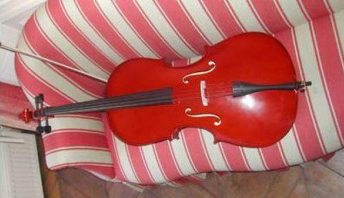 Violoncelle NAUTILE neuf 4/4 + housse + archet