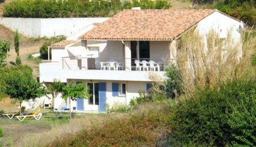 CORSE CARGESE Loue maison avec jardin-vue mer-14Lits