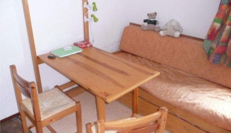 Loue studio cabine 16m², 4couchagesaux Carroz d'Arâches (74)