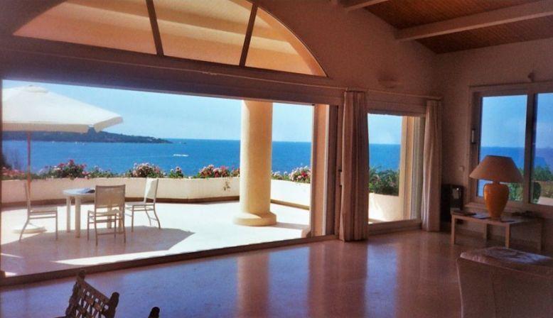 Loue maison Exceptionnelle Bord de mer, Panorama Piscine, Plage sable, Clim - 14couchages - Coti-Chiavari (20138)