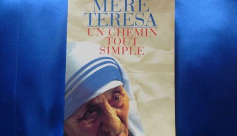 """Livre Mère TERESA """"Un chemin tout simple"""""""