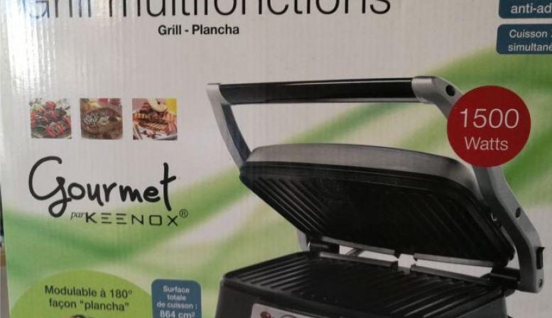 Plancha grill gourmet