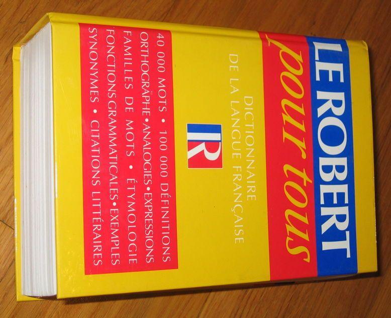 """Vends """"Le Robert pour tous: dictionnaire"""""""