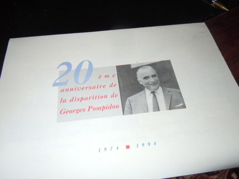 20e anniversaire de la disparition de Georges POMPIDOU