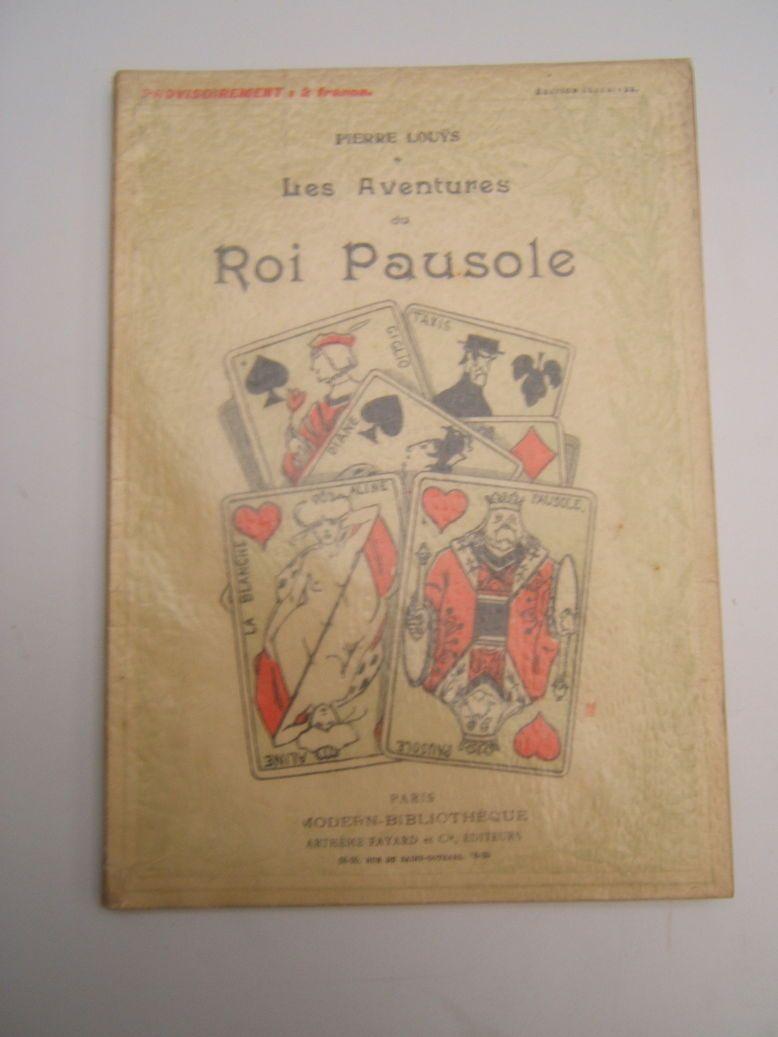 Vends livre: Les aventures du roi Pausole de Pierre LOUYS
