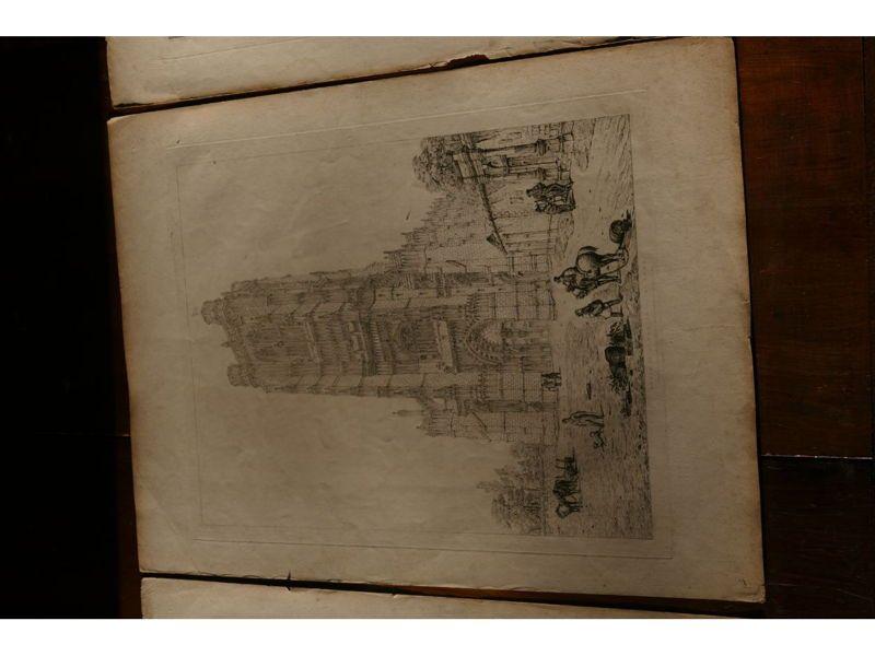 NORD PICARDIE- SAINT-OMER-John CONEY-1830-3gravures (Moon,Boys&Graves)