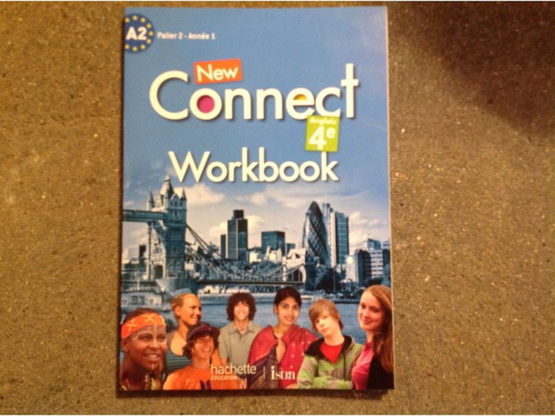 New connect workbook anglais 4eme