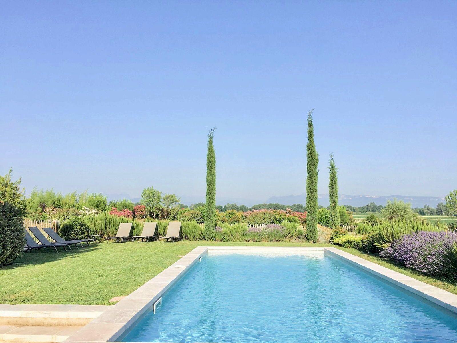 Loue maison de campagne de charme - Drôme Provençale - 8personnes