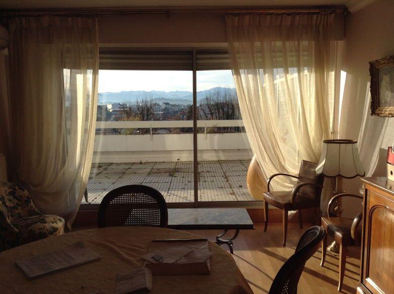 Vends, loué, 2pièces 54m²et terrasse 40m²vue Pyrénées - Pau