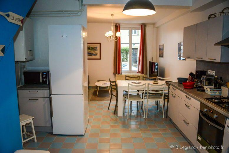 Loue Villa Violette en meublé, 120m², centre de Cabourg