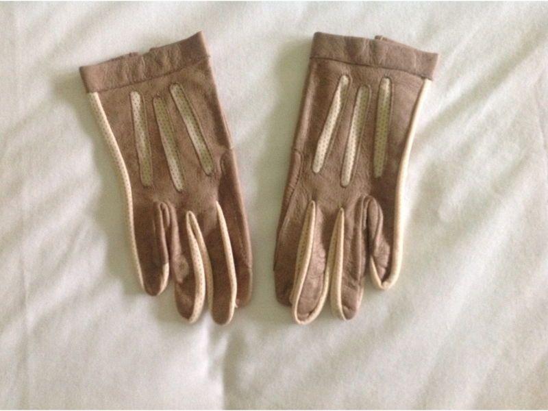 Gants pur cuir sport Taille 61/2