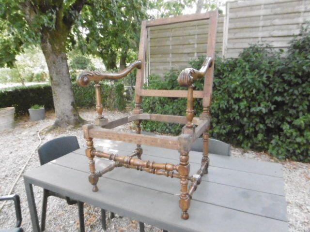 Vends bois de fauteuil