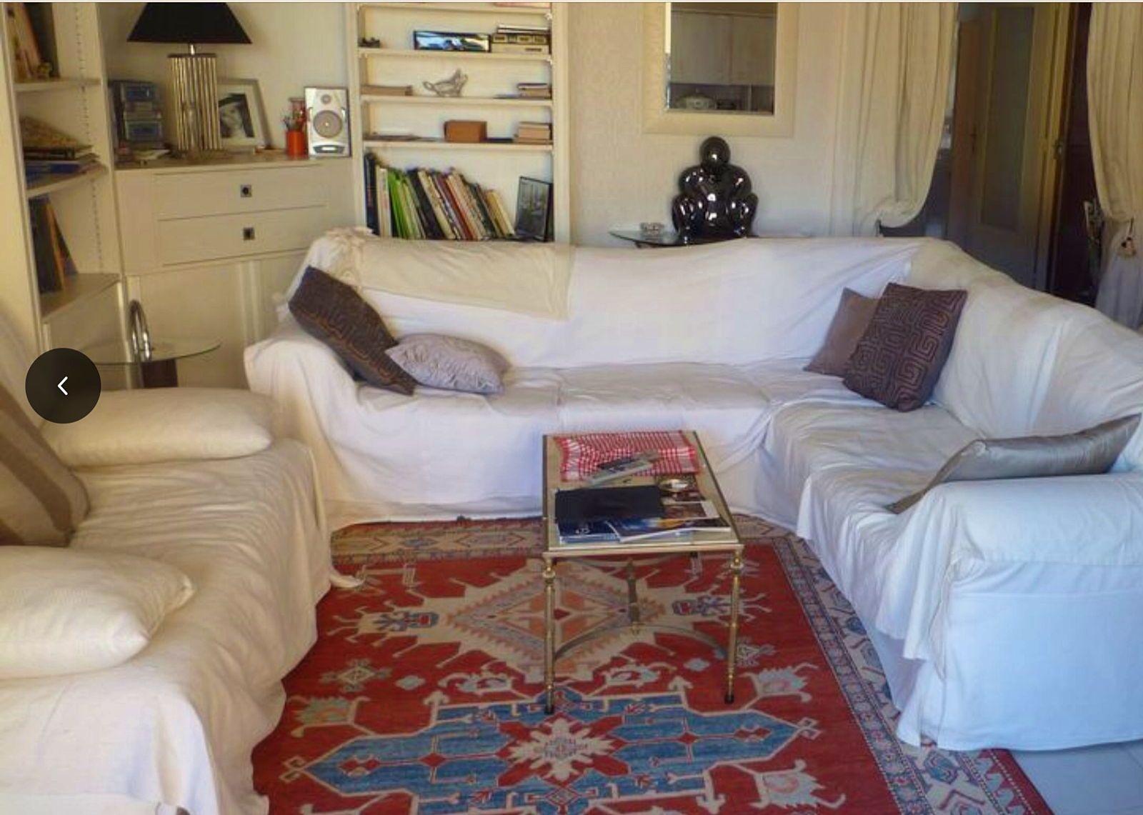 Loue appartement Ajaccio (20) dans immeuble standing quartier résidentiel - 2chambres 4couchages