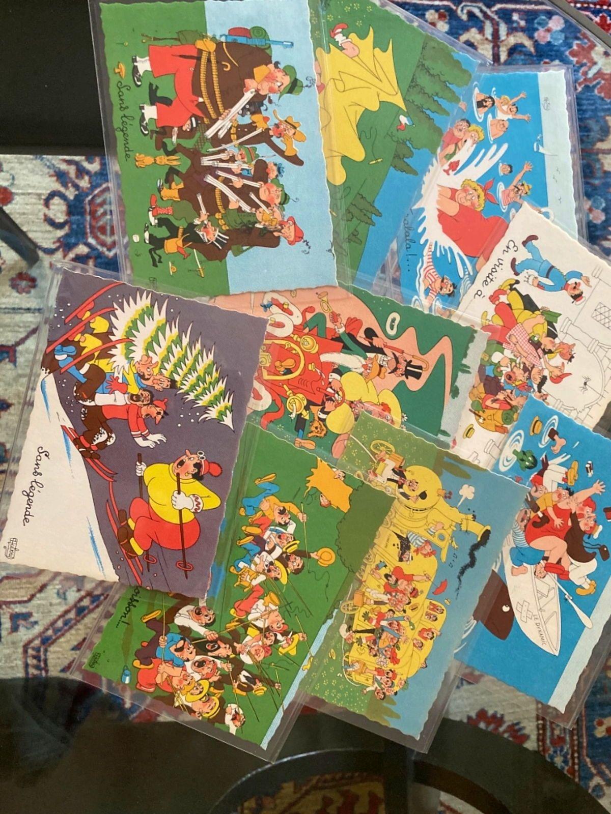 Vends collection 42cartes postales: Albert DUBOUT illustrateur 1905-1976