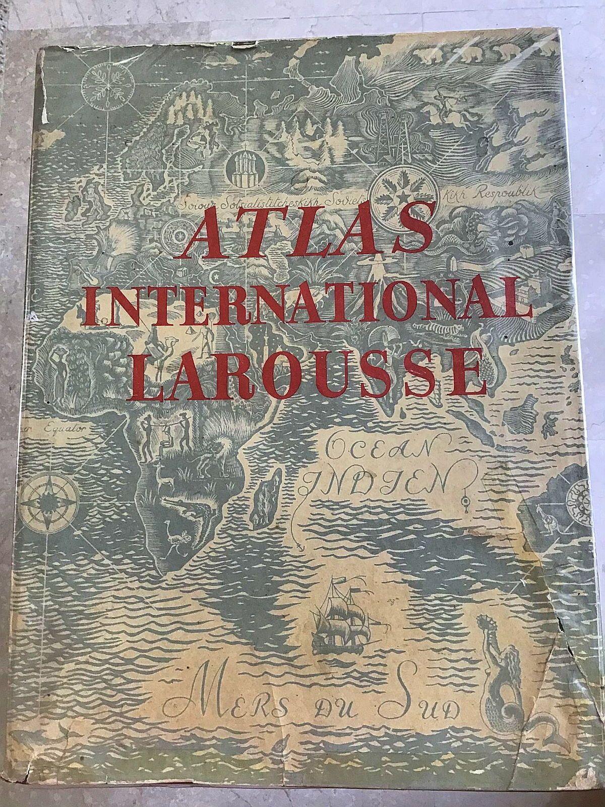 Atlas international Larousse politique et économique 1950