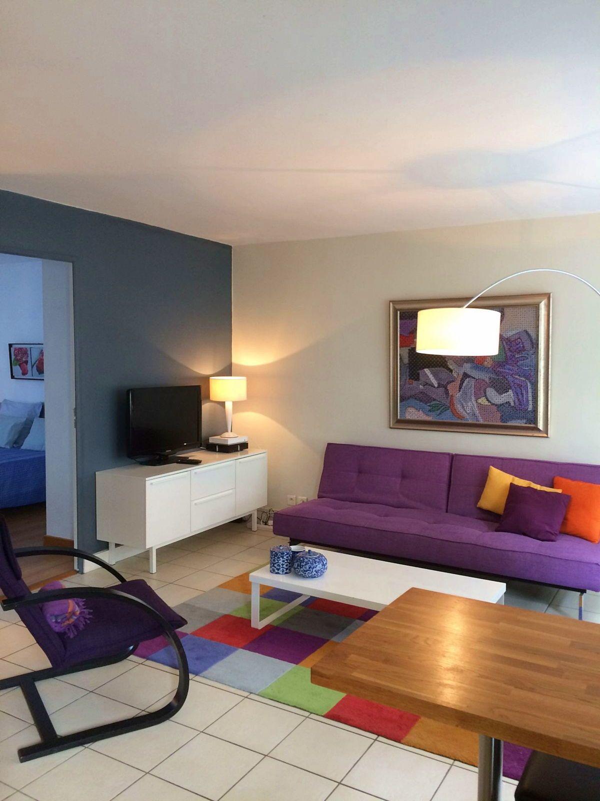 Biarritz Cote des Basques, loue joli T2avec garage, 2couchages