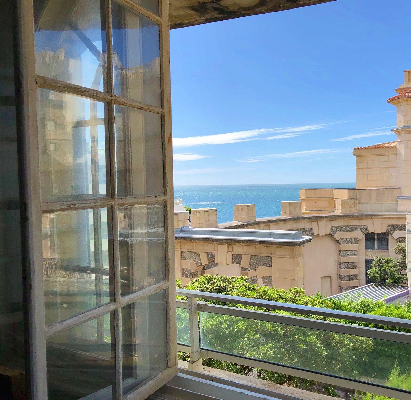 Biarritz centre- loue appt 2chambres - accès direct à la plage