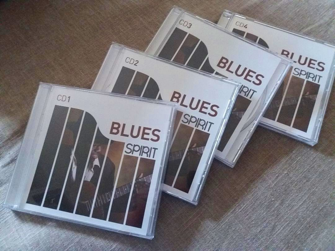 Vends 4CD Blues Spirit. Comme neuf