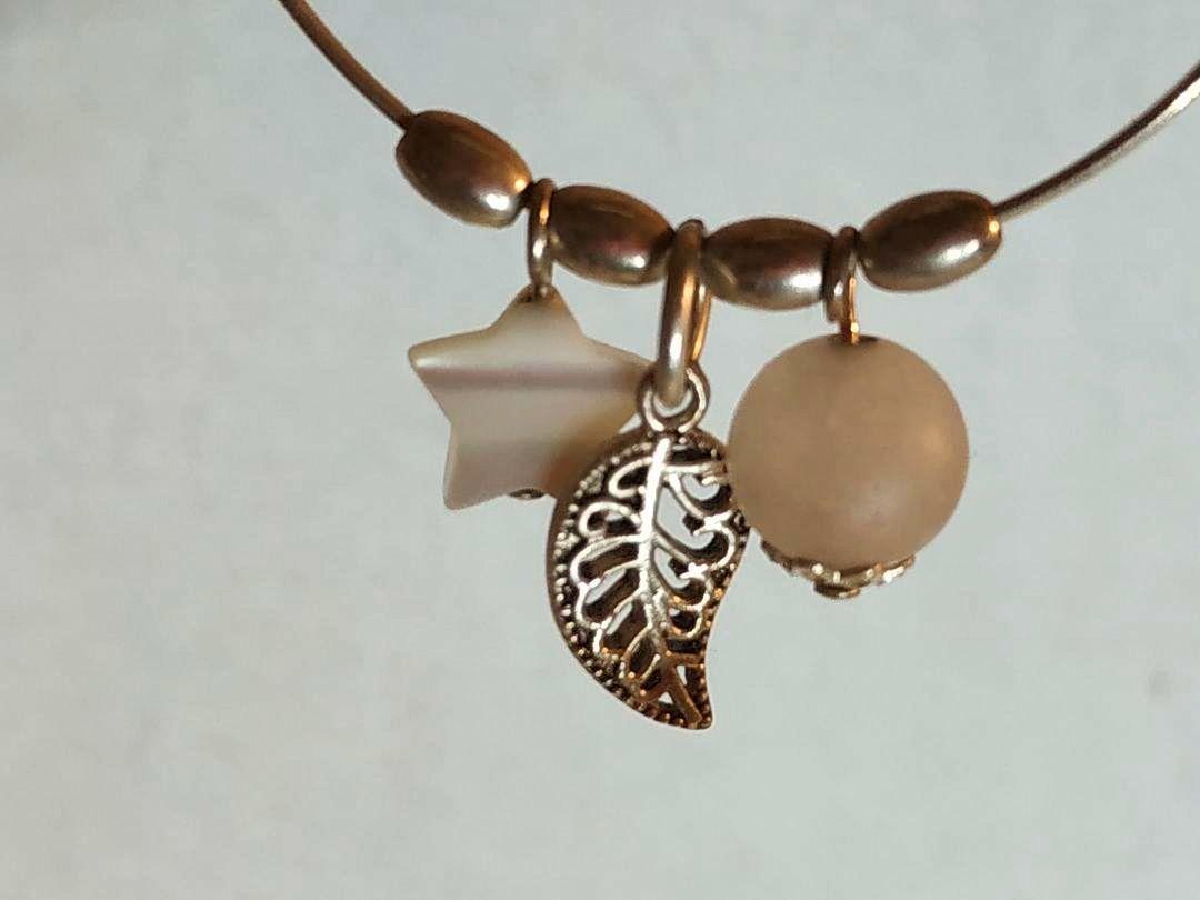 Boucles d'oreilles créoles argent et nacre, crochet ou autre