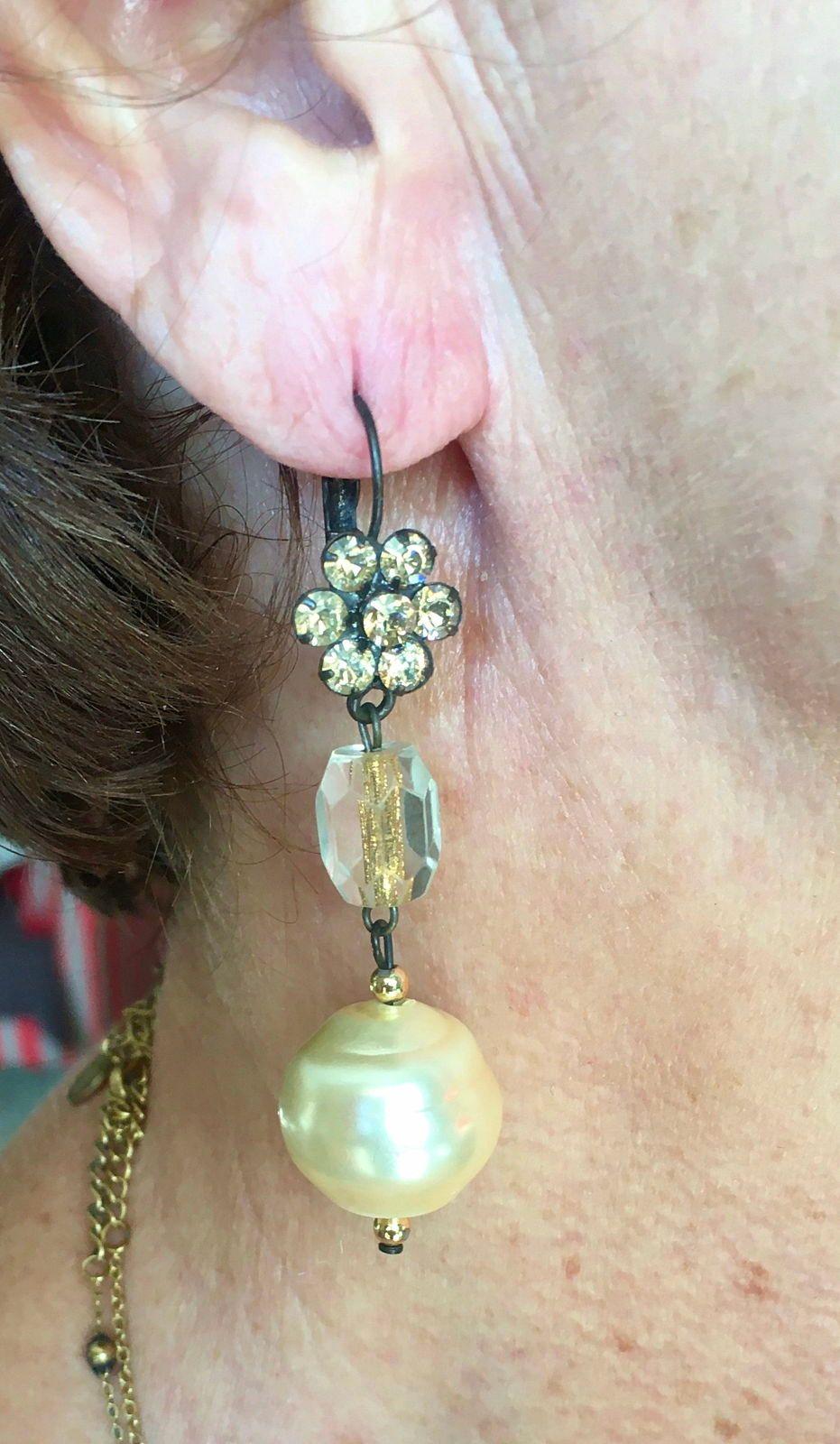 Boucles d'oreilles italiennes Clothilde Silva