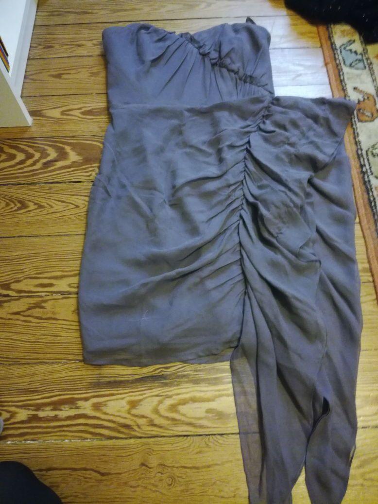 Vends robe de soirée mauve taille 36