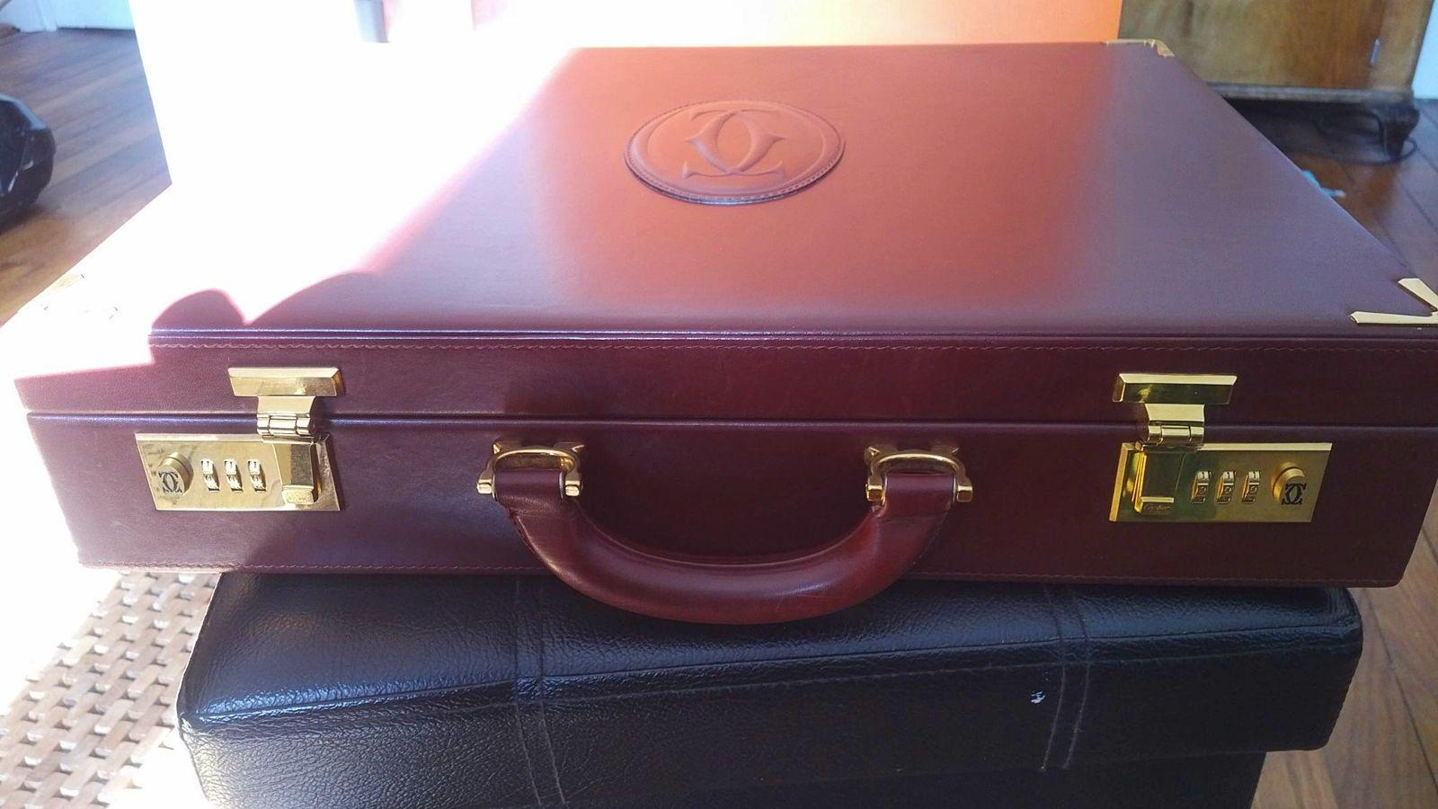 Vends magnifique attaché-case CARTIER