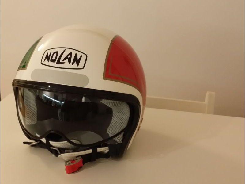 Vends casque Nolan 1/2jet petite taille