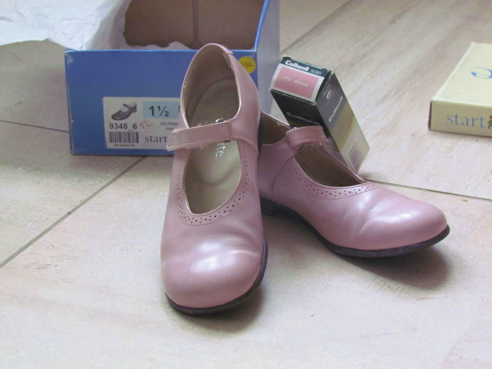 Chaussures Fille Start rite Delphine rose 34