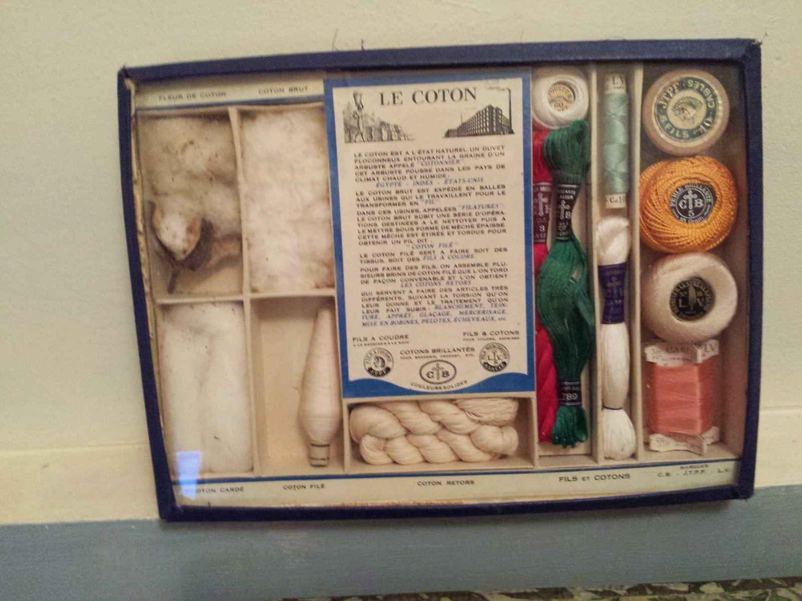 Collection Cartier Bresson, boîte ancienne le process du coton