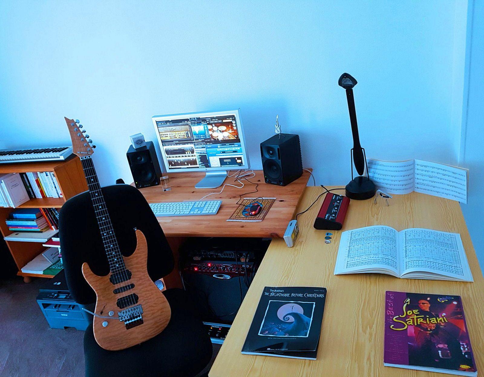 Cours de musique et de guitare (électrique & acoustique) Nantes centre