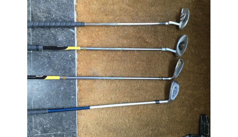 Vends série de clubs de golf enfant