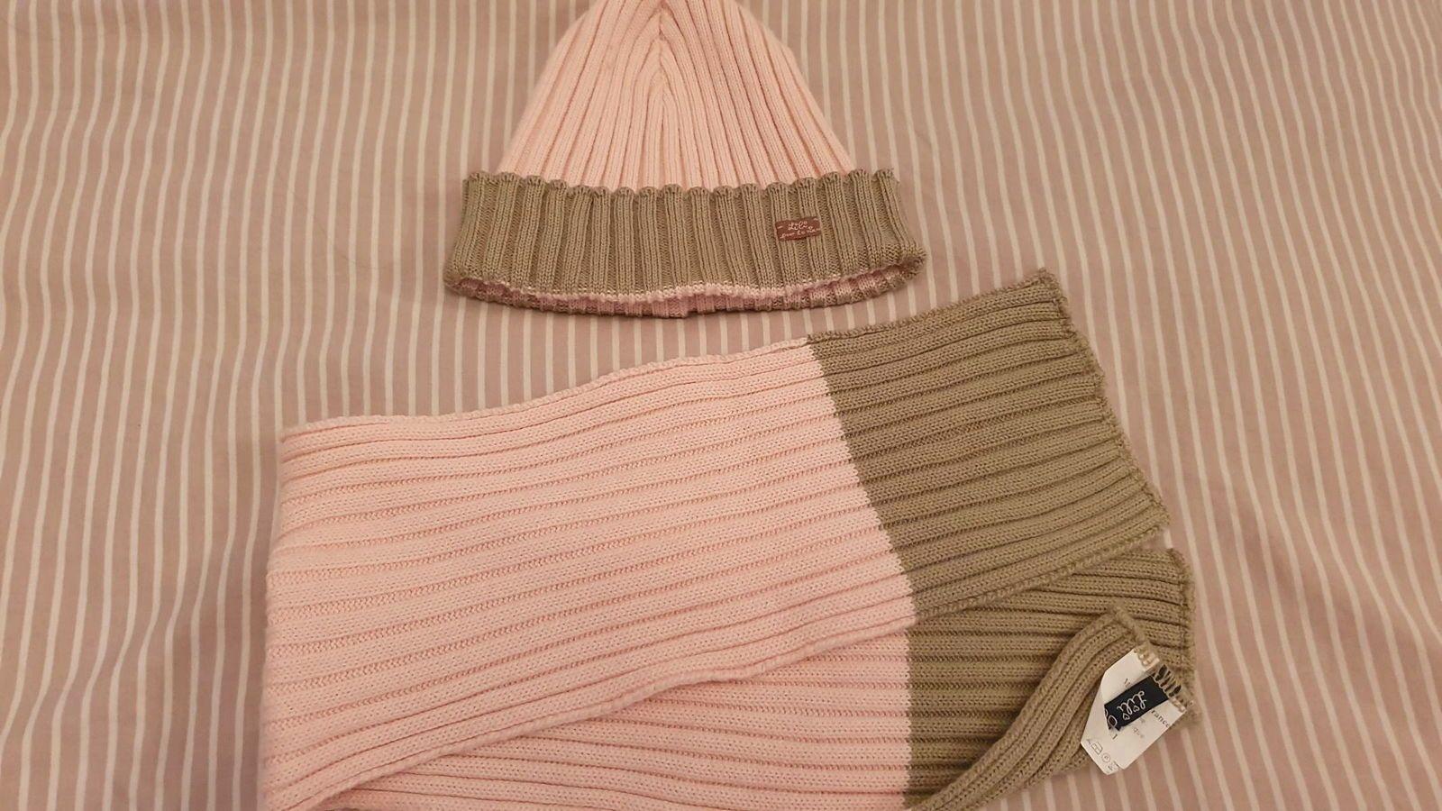 Vends ensemble bonnet écharpe Lili gaufrette - Taille 18mois