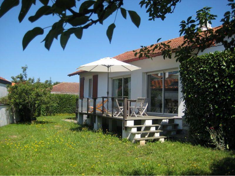 Loue à Biarritz maison indépendante avec grand jardin 6couchages