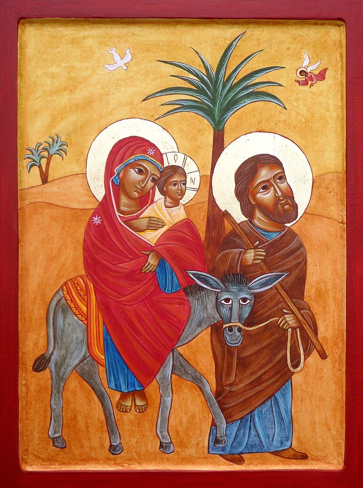 Vends Icônes peintes, byzantines et contemporaines