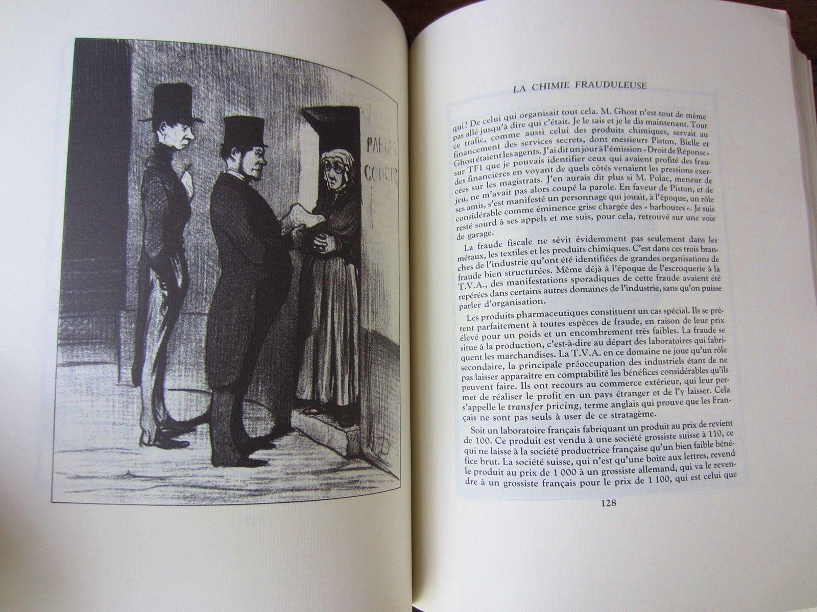 Livre: Les industriels de la fraude fiscale - Illustrations de Daumier