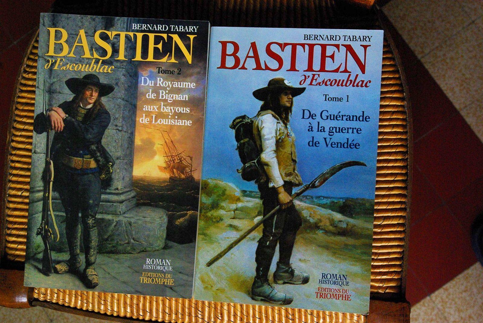Livre Bastien d'Escoublac tome 1&2B. Tabary éd. Triomphe TBE jeunesse