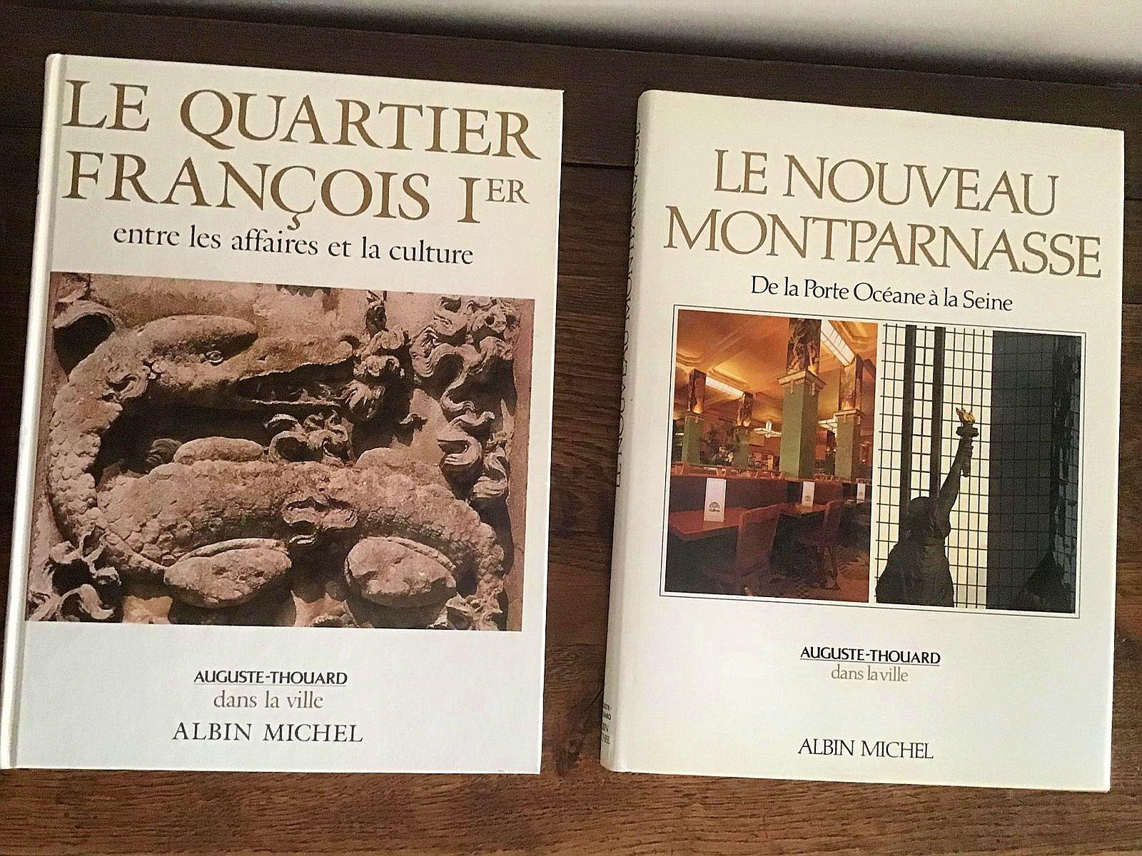 Livres d'art architectural sur Paris