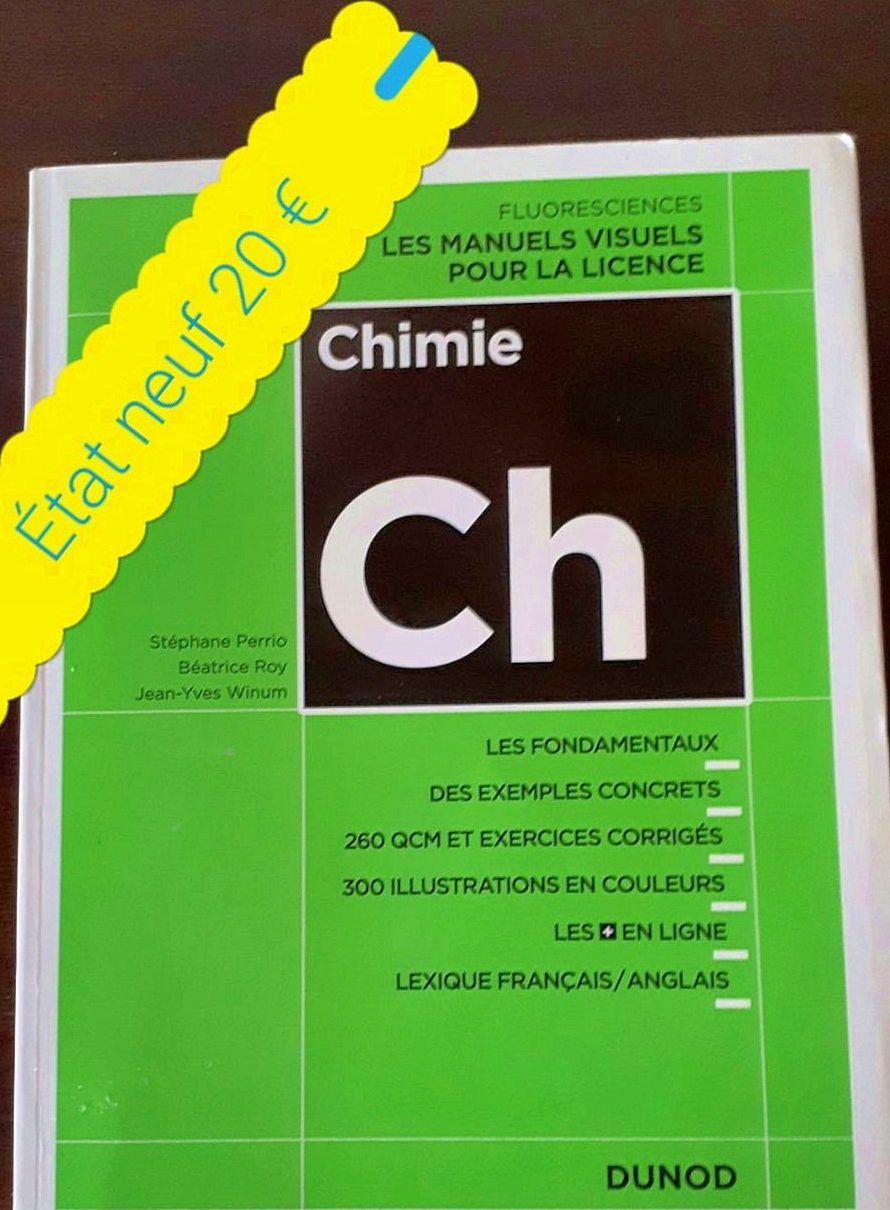 Livres Chimie et Biologie