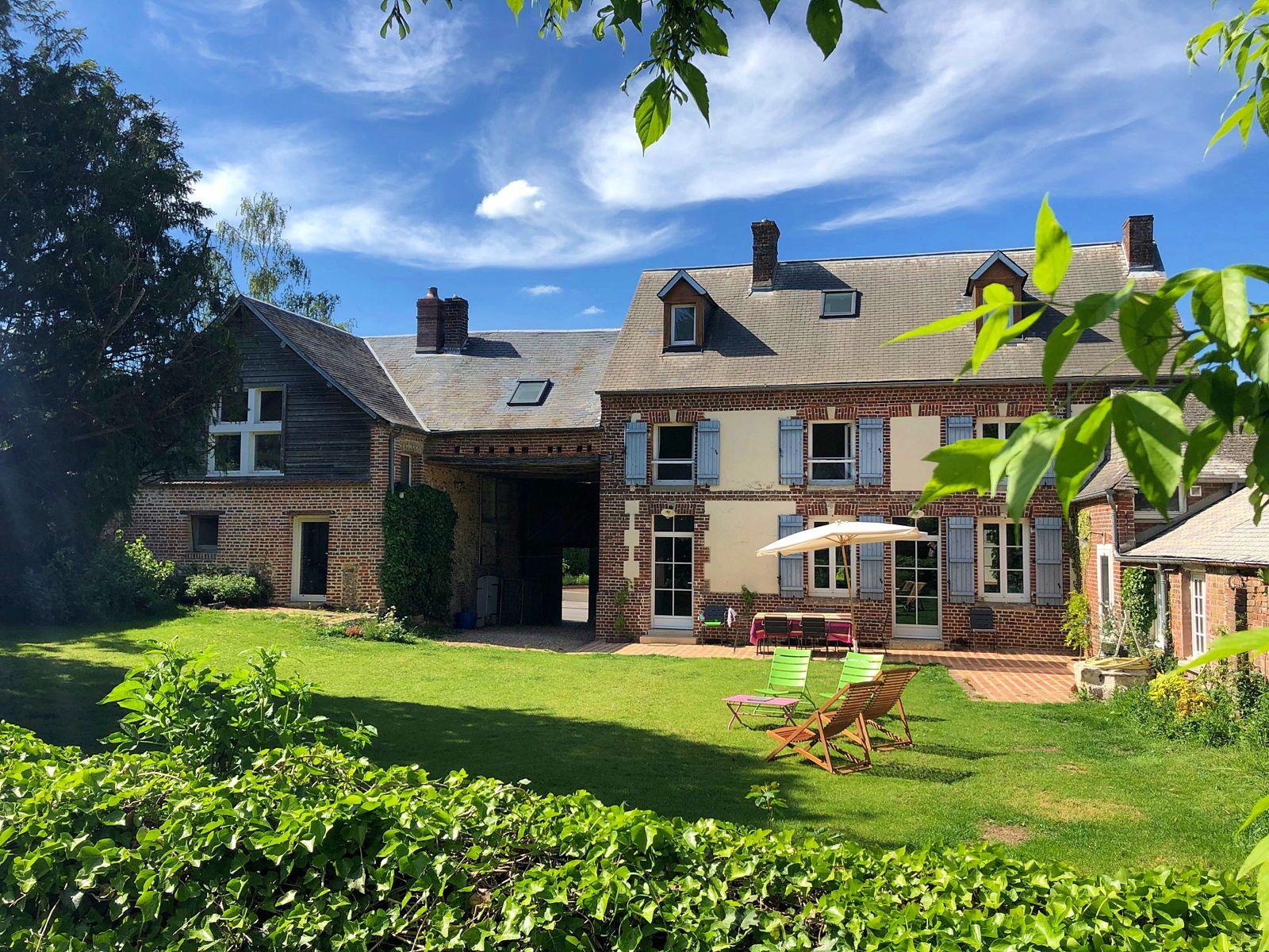Loue maison de charme 10couchages ds l'Oise (Vexin) Piscine 1h 65km de Paris