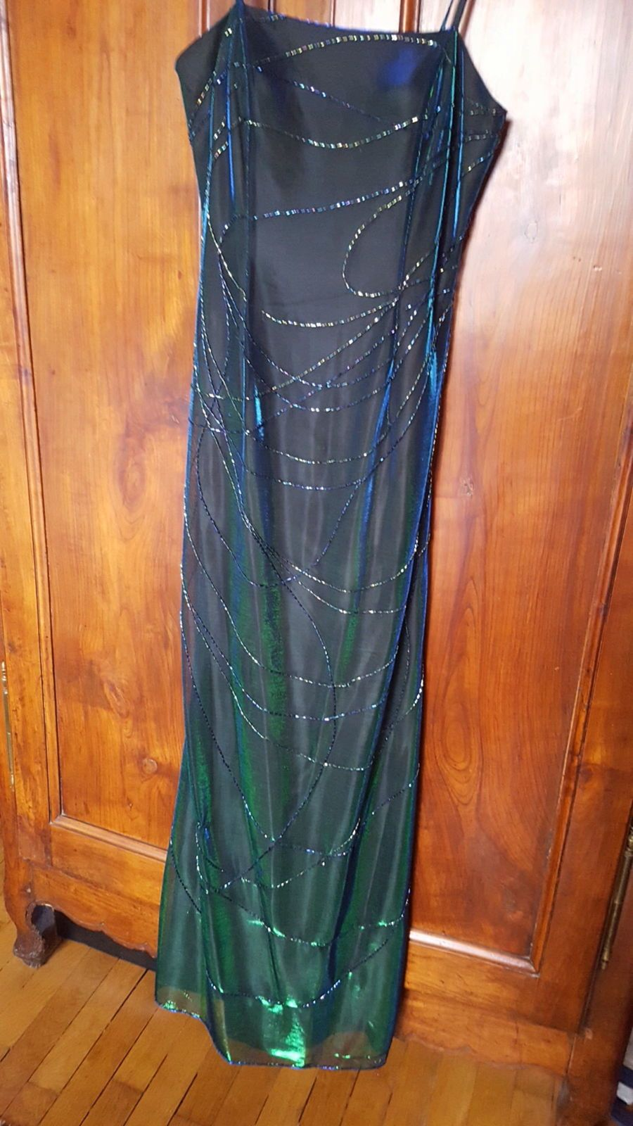 Vends robe longue taille 38