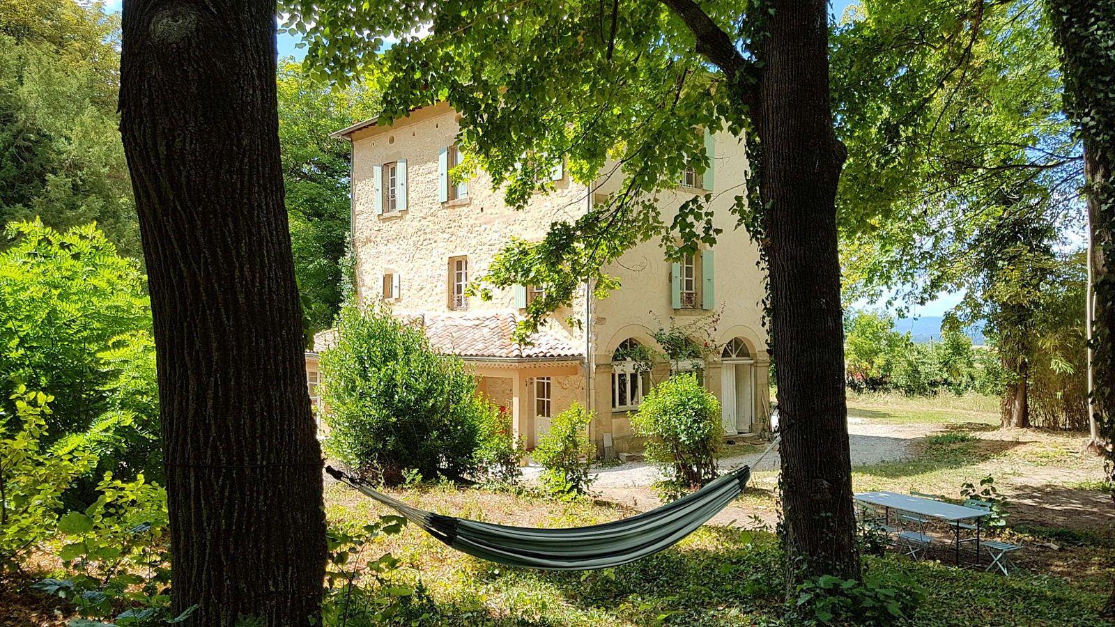 Louons notre maison de famille avec piscine en pleine nature à Crest (26) 14couchages
