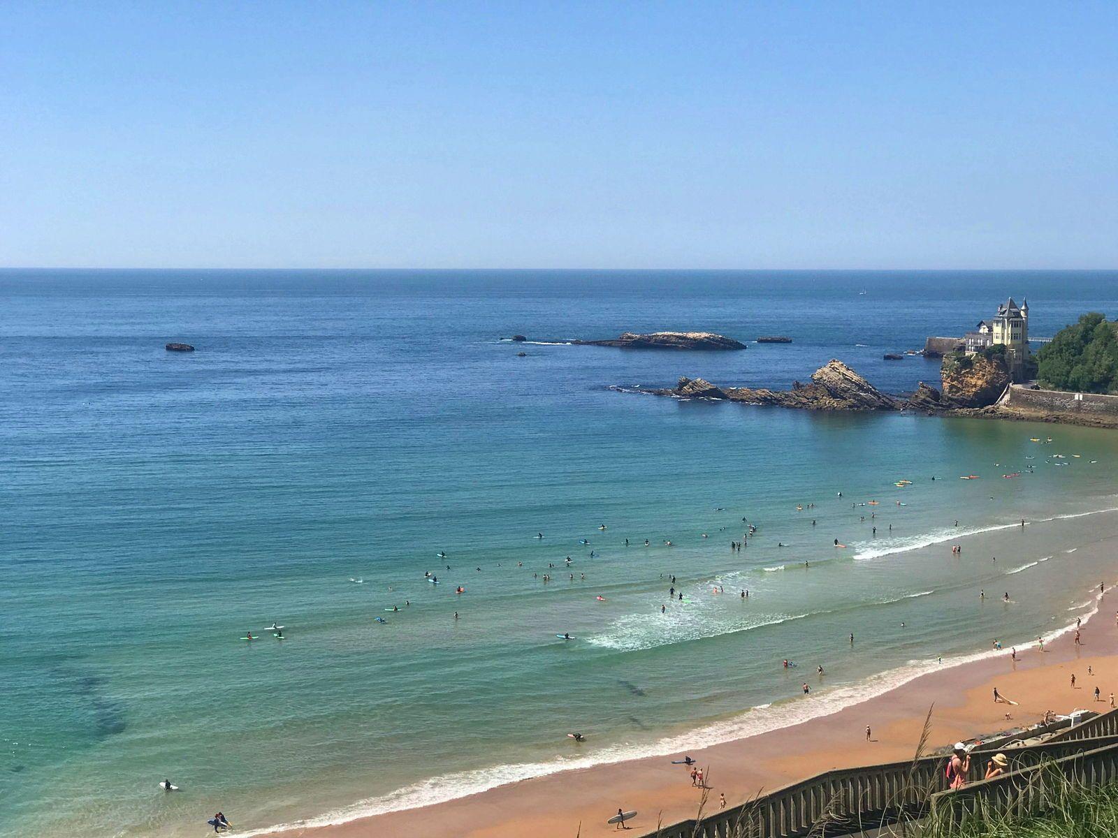 Loue maison Biarritz quartier bibi plage à pieds 6/8couchages