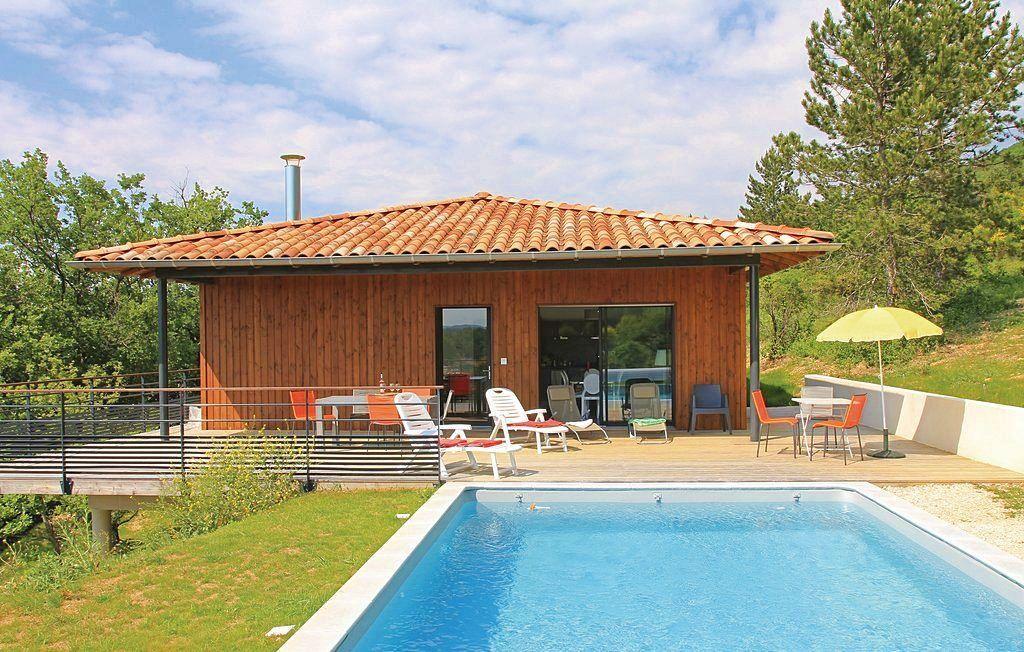Loue maison contemporaine avec piscine en Drôme Provençale, 4chambres