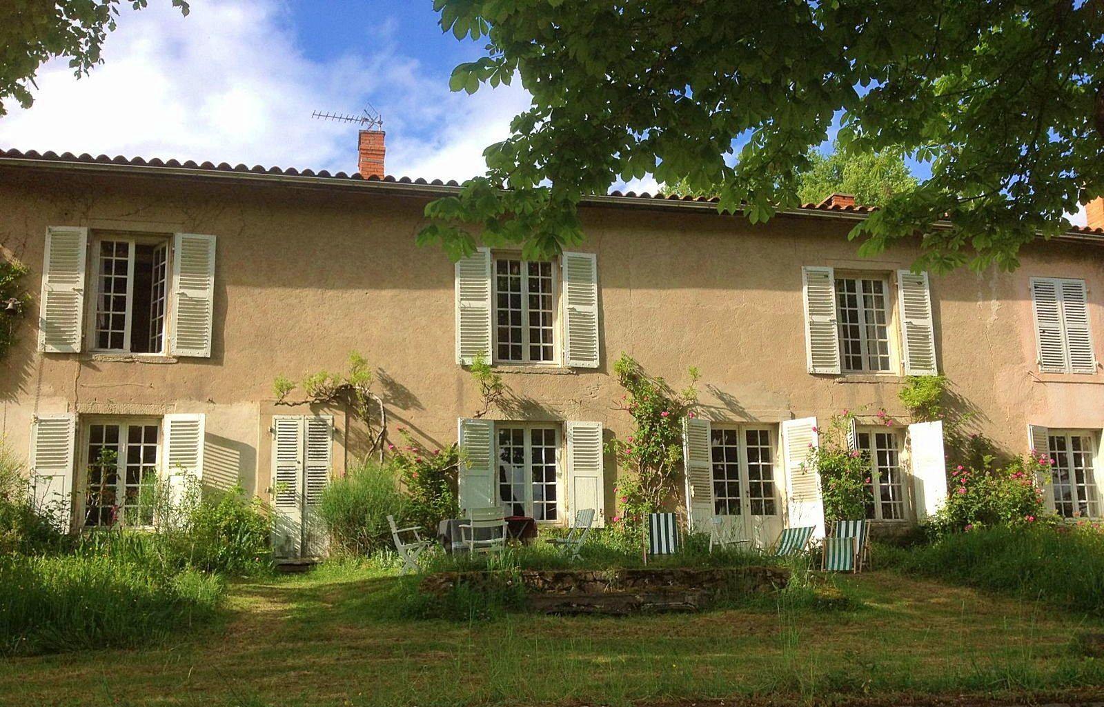 Loue maison de famille de charme en Auvergne 8/10personnes