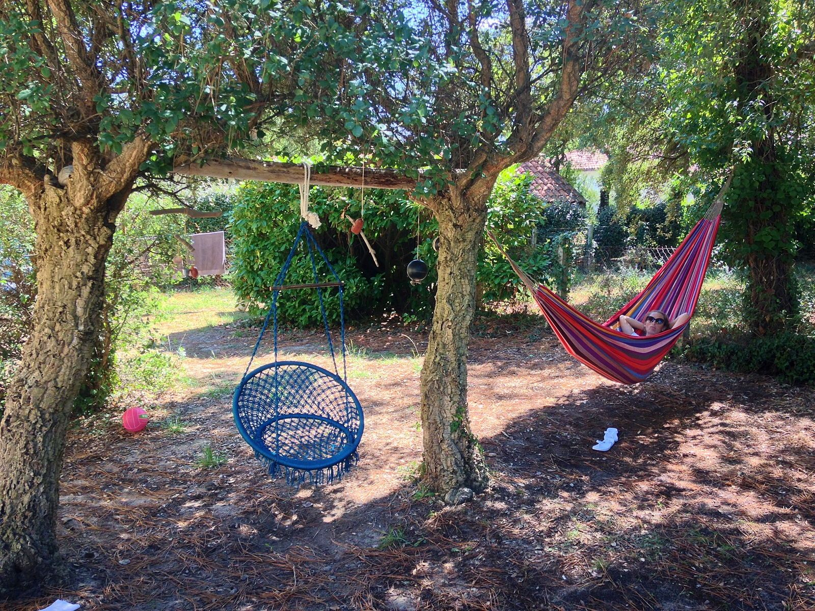 Loue maison de plage avec jardin dans les Landes 8couchages