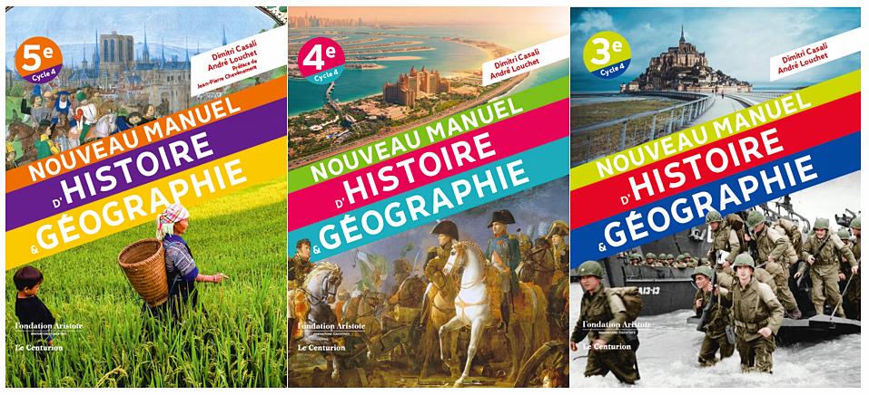 Les manuels qui font aimer l'histoire-géo au collège!