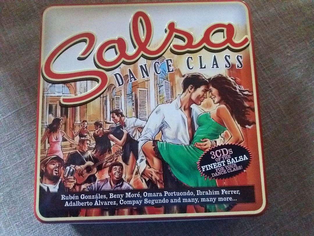 Vends métal Box 3CD - « Salsa Dance Class » neuf
