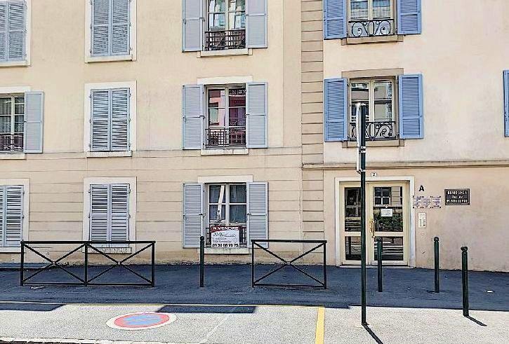 Loue 2pièces non meublé - 39m², en RDC sur rue, avec parking