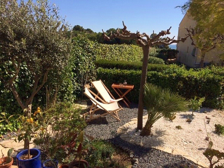 Loue appartement, jardin à 100m de la plage, 2couchages - Mèze
