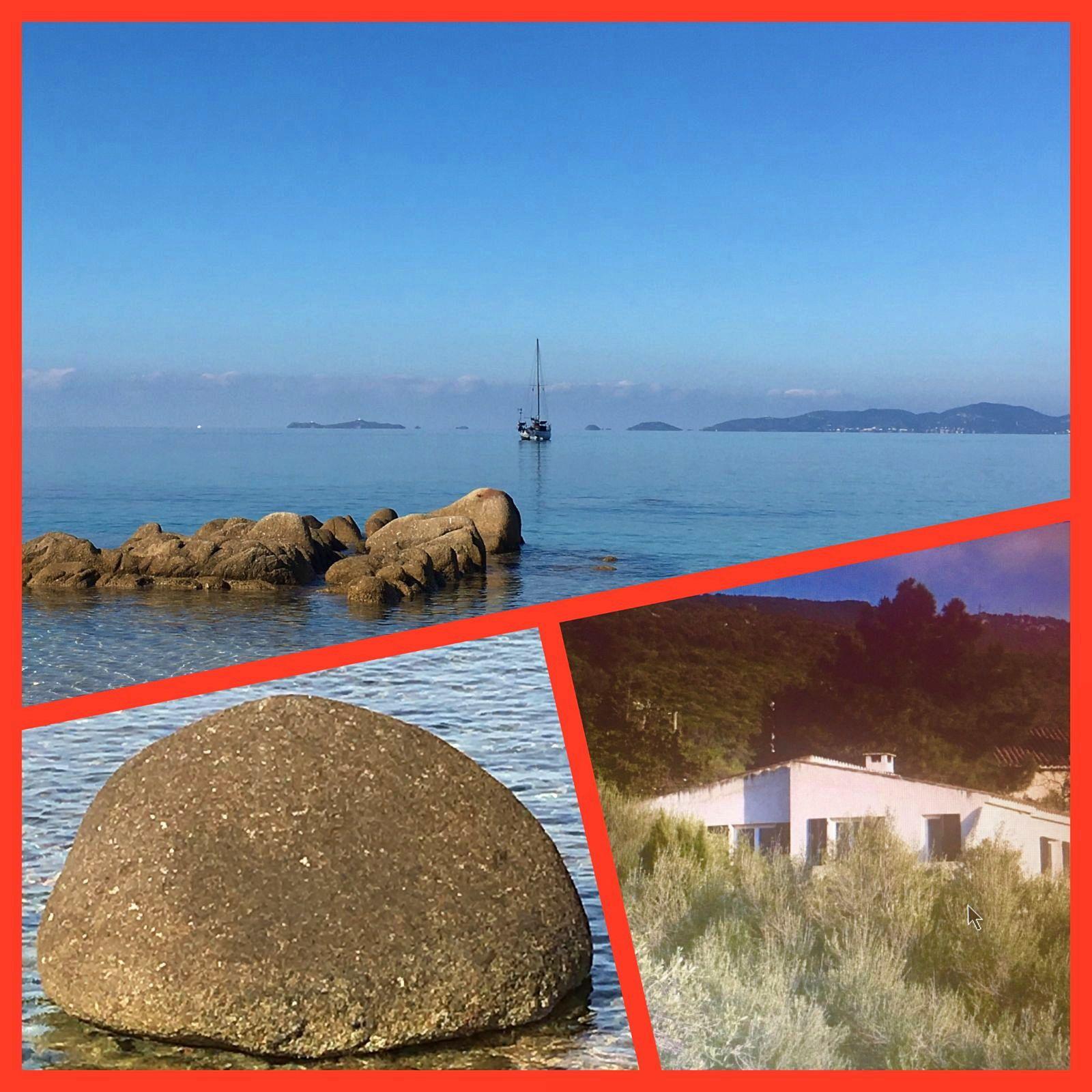 Loue maison Baie Ajaccio 6/7couchages - Plage à 300m-vue mer superbe CORSE SUD